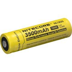 NITECORE 3500MAH RECHARGABLE LI-ION 18650 BATTERY