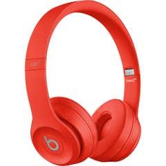 Beats Solo3 Wireless On-Ear Headphones (Red)