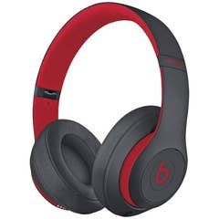 Beats Studio 3 Wireless Over-Ear Headphones (Defiant Black - Red)