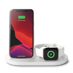 Belkin Boost Charge Pro 15W 3-in-1 Wireless Charger with MagSafe