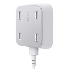 Belkin Family RockStar 4-Port USB Charger White - F8M990bgWHT