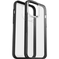 LifeProof SEE Case for Apple iPhone 13 Pro Max, Clear/Black- 77-85707