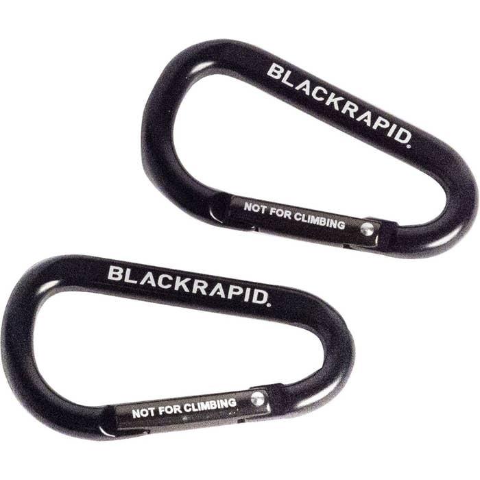 BlackRapid Carabiner Set of 2 (Black)