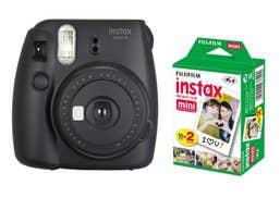 Fujifilm Instax Mini 9 Camera Black  plus 20pk of Film