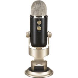 Blue Microphones Yeti Pro 3-Capsule USB and XLR Microphone - Silver