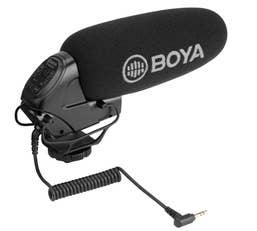 BOYA BY-BM3032 Super Cardioid On-Camera Shotgun Microphone