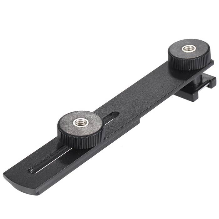 BOYA BY-C01 Universal Bracket with Additional Cold-Shoe and 1/4