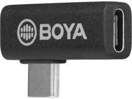 BOYA BY-K5 Female Type C to Male Type C Adapter 90 Degrees