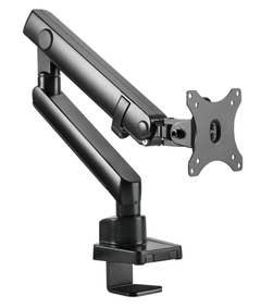 "Brateck Single Monitor Aluminium Slim Mechanical Spring Monitor Arm 17""-32"""