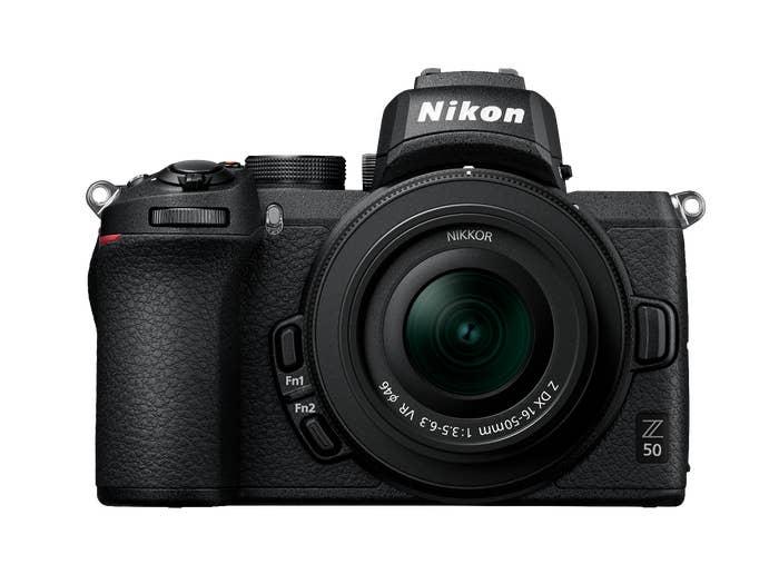 Nikon Z50 with NIKKOR Z DX 16-50mm f / 3.5-6.3 VR Lens Kit
