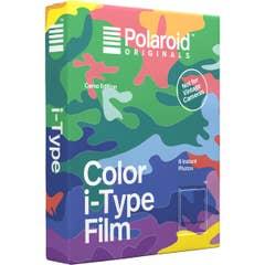 Polaroid Original Color i-Type (Camo Edition, 8 Exposures) Instant Film