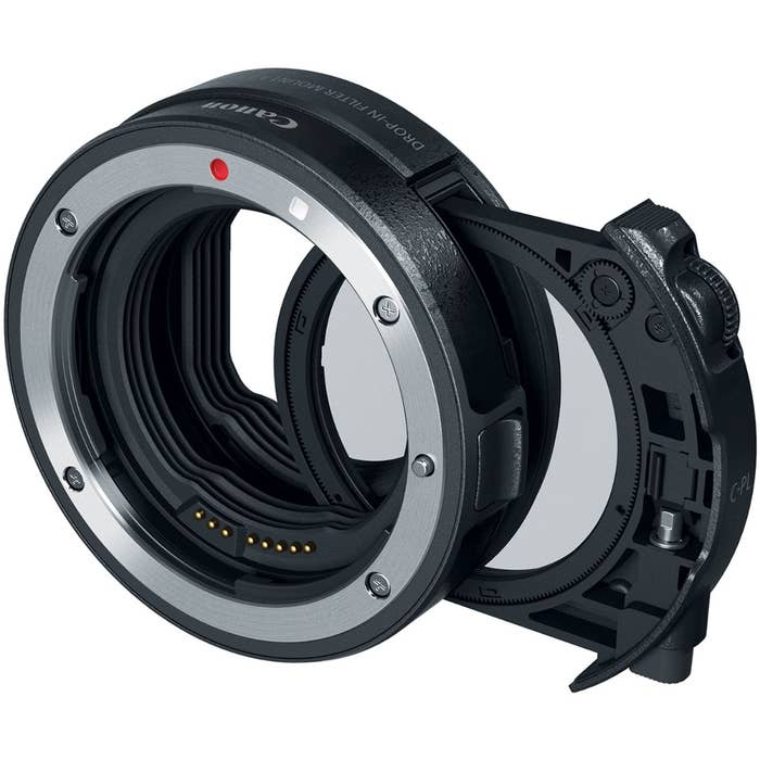 Canon EF - EOS R Drop In Filter Mount Adapter with CPL filter