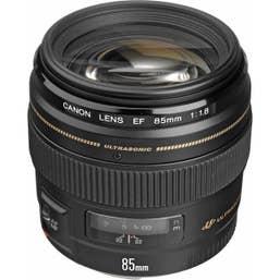 Canon EF 85mm f/1.8 USM Lens (EF8518U)