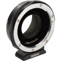 Canon EF to Fuji X-mount T Speed Booster ULTRA 0.71x