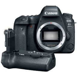 Canon EOS 6D Mark II Body Only with BGE21 Battery Grip