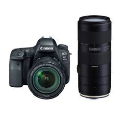 Canon EOS 6D Mark II w/ 24-105mm f/3.5-5.6 IS STM and Tamron 70-210mm f/4 DI VC USD