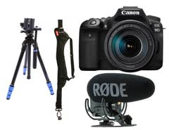 Canon EOS 90D Vlogging Bundle
