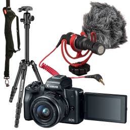 Canon EOS M50 Vlogging Bundle
