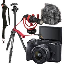 Canon EOS M6 II Vlogging Bundle
