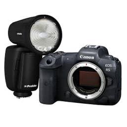 Canon EOS R5 Body with Profoto A1 Flash Kit