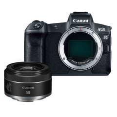 Canon EOS R with RF 50mm f1.8 STM LTD Bundle