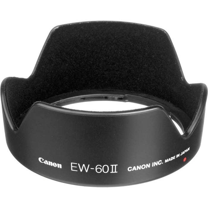 Canon EW60II 58mm Lens Hood for Canon EF 24mm f2.8