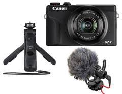 Canon PowerShot G7X Mark III Vlogging Bundle