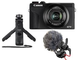 Canon PowerShot G7X Mark III Vlogging Bundle