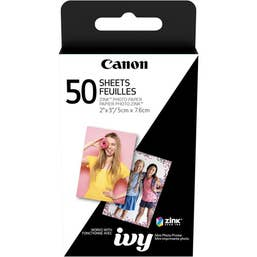 Canon Mini Photo Printer Paper - 50 sheets - ZP-2030-50 - ZINC