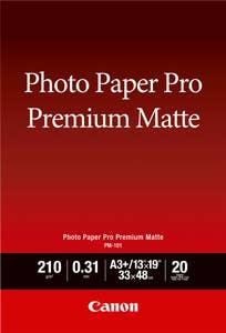 "Canon PM-101 A3 + Photo Paper Pro Premium Matte (13 x 19"", 20 Sheets)"