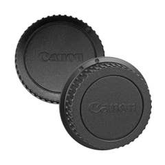Canon Rear Dust Lens Cap E and Body Cap Combo for EF