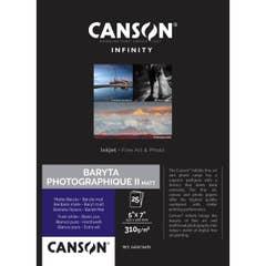 Canson Baryta Photographique II Matt 5x7 Inch x 25 Sheets