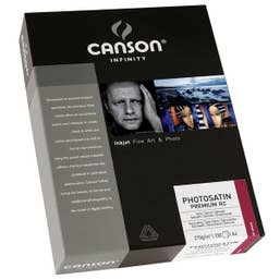 Canson Infinity PhotoSatin Premium RC 270gsm A4 x 250 Sheets