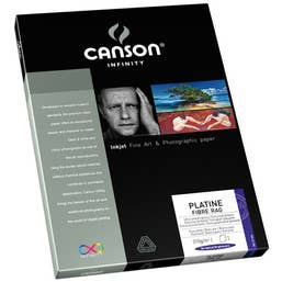 Canson Infinity Platine Fibre Rag 310gsm A4 x 25 Sheets