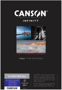 Canson Platine Fibre Rag 310gsm A3+ x 25 Sheets