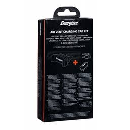 ENERGIZER CAR KIT 1A Clipped  plusMicroUSB Cable Black