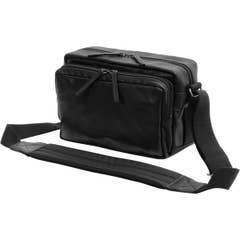 Classic Series Shoulder Bag - Black Leather by Artisan and Artist
