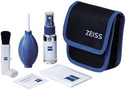 Zeiss Lens Cleaning Kit Fluid, Brush, Blower, Cloth Wipes & Carry Case