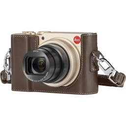 Leica C-LUX, Light Gold with Bonus Protector C-Lux, Leather Taupe