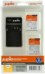 Jupio Nikon EN-EL12 Twin Battery  plus Charger Kit