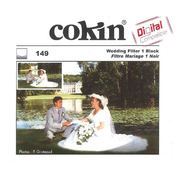 Cokin P149 Wedding #1 M (P) Black Resin Filter