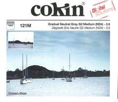 Cokin X121M Gradual Grey G2 Medium (ND4) Filter
