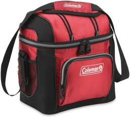 Coleman 9 Can Soft Cooler Bag - Red
