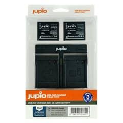 Jupio Panasonic DMW-BLG10 Twin Battery, Twin Charger Kit