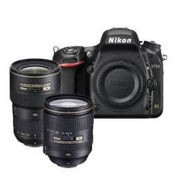 Nikon D750 Kit w/ AF-S 24-120mm f4G VR IF and 16-35mm f/4G VR Lenses