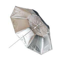Cactus Collapsible 45 Black/Silver Reflector Umbrella C-452