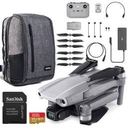 DJI Mavic Air 2 with Crumpler Drone Bag and 64GB Sandisk Card Bundle