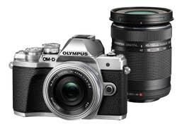 Olympus E-M10 Mark III -Twin Kit w/ 14-42mm EZ  plus 40-150mm Lenses - Silver