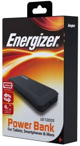 ENERGIZER POWER BANK 10000mAh Black