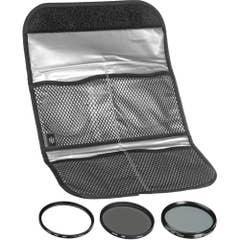 Hoya Digital 3 Filter Kit 46mm incl 46mm UV, Cir Pol, NDx8